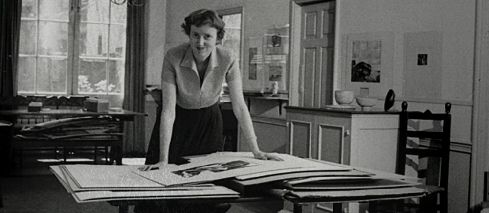 Berthe von Moschzisker became the Second Director of The Print Center in 1944