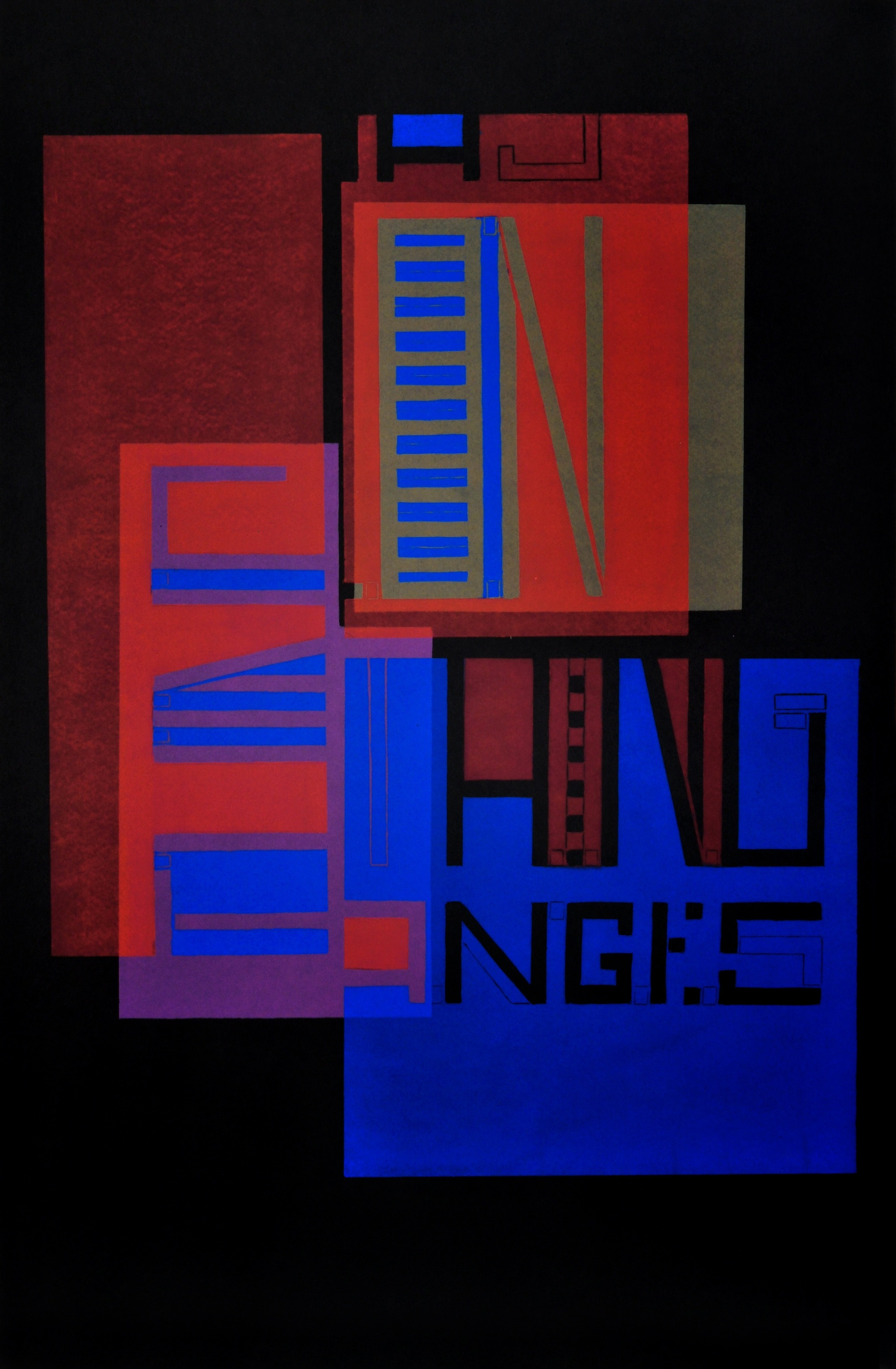 Nothing changes from generation to generation except the thing seen and that makes a composition (Variation 3 of 6), 2014