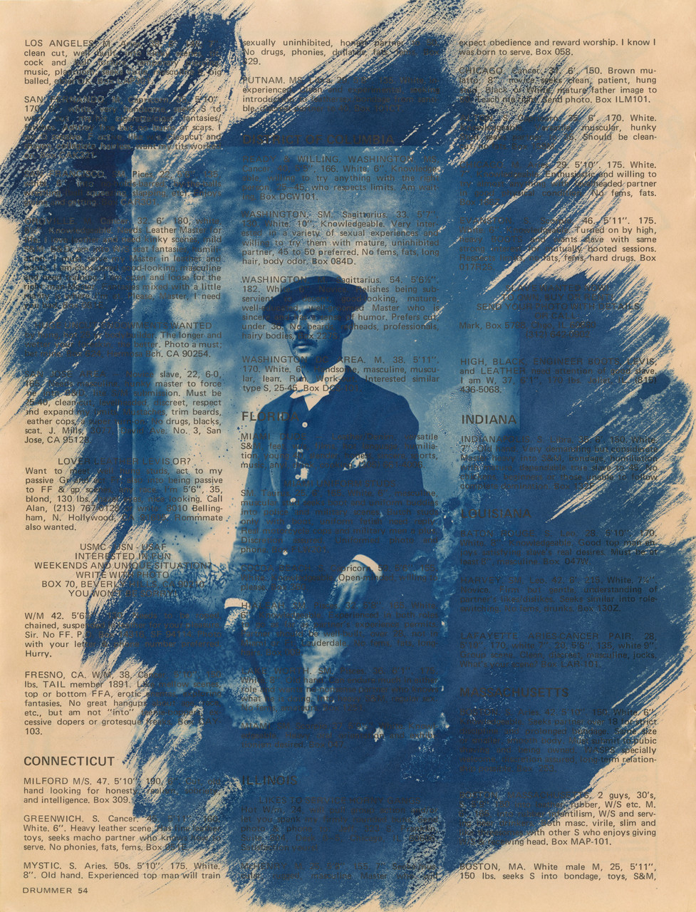 Blue Boy #5 (well-educated, well-groomed), 2014